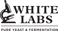 White Labs Microscope Logo
